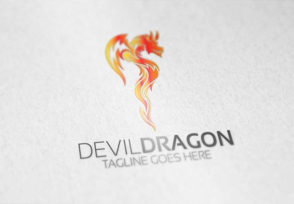 Devil Dragon Logo