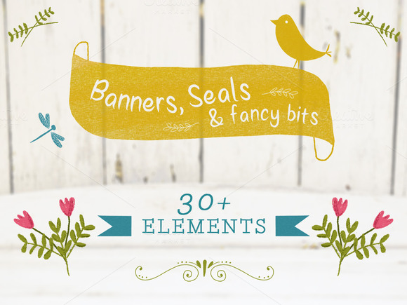 Banners Seals Set 1
