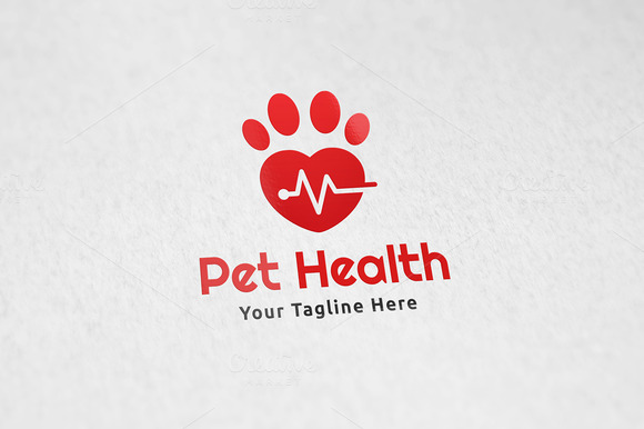 Pet Health Logo Template