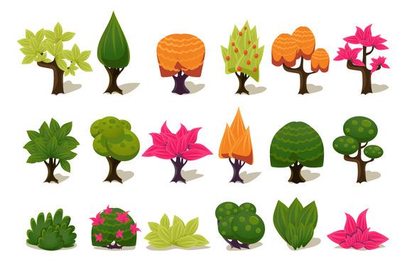 Cartoon Game Tree