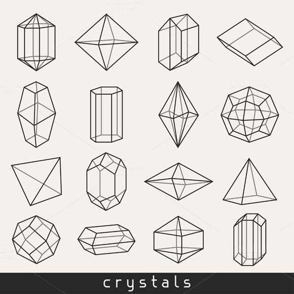 Set Of Geometric Crystals