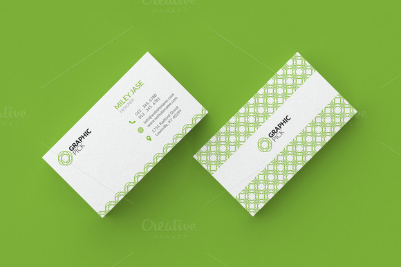 Simple Minimal Business Card