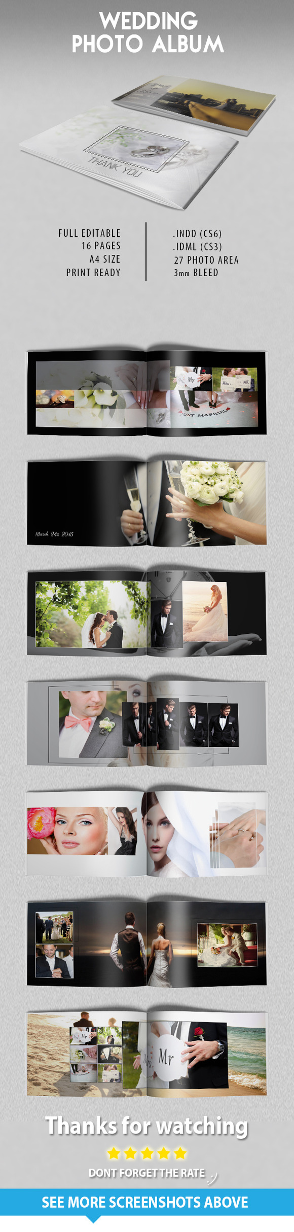 Wedding Photo Album Catalogue