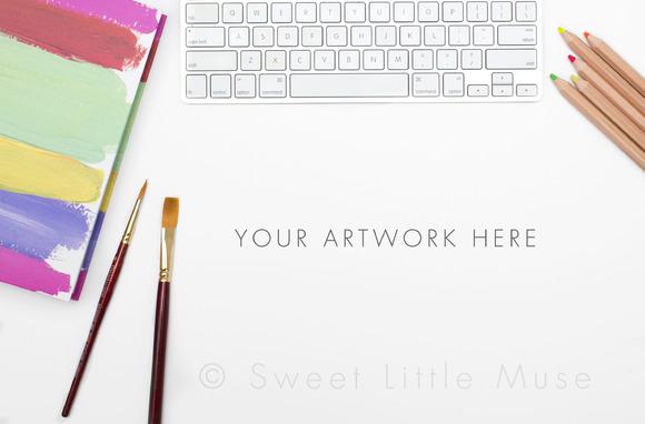 Styled Stock Photo Art Mockup