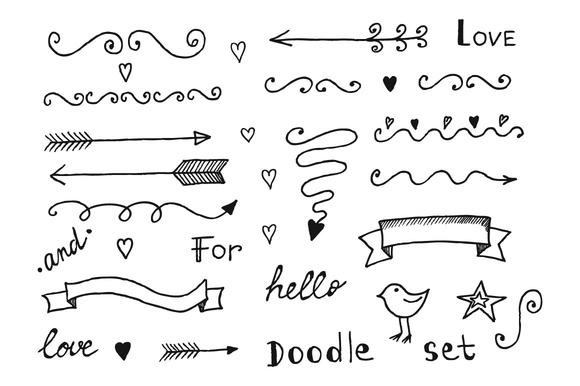 Vector Hand-drawn Elements