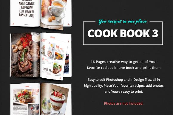 Cook Book Recipes Vol 3