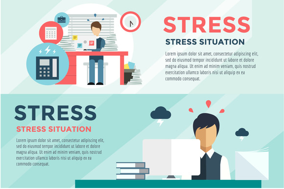 Stress On The Work Office Life