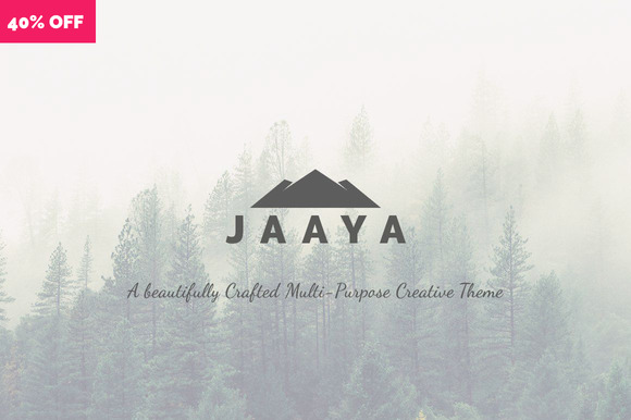 JAAYA Multi-Purpose Creative Theme