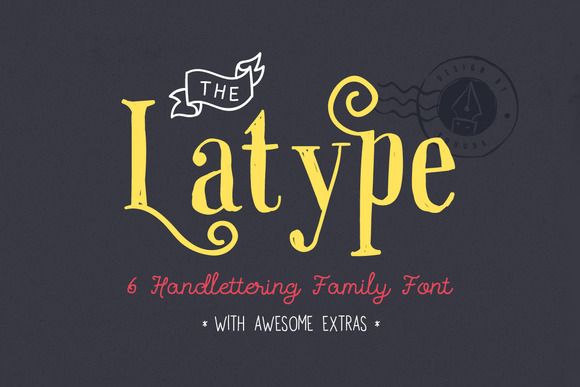 Latype Font Family 50% Off