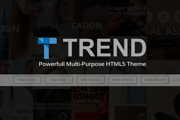Trend Multi-Purpose HTML5 Responsi