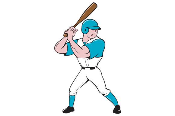 Baseball Player Batting Stance Isola
