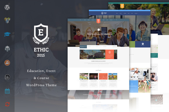 ETHIC Education LMS Theme