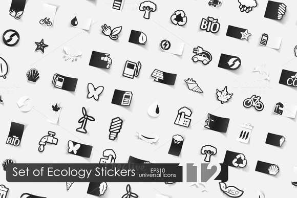112 Ecology Stickers