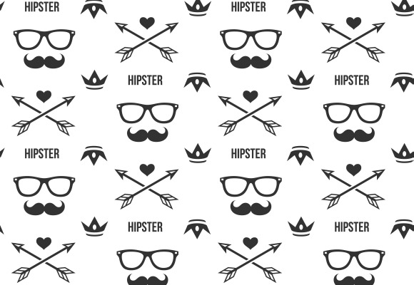 Hipster Pattern