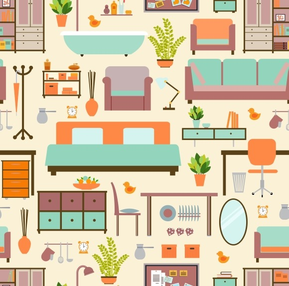 House Furniture Pattern