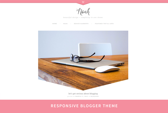 Noah Responsive Blogger Design