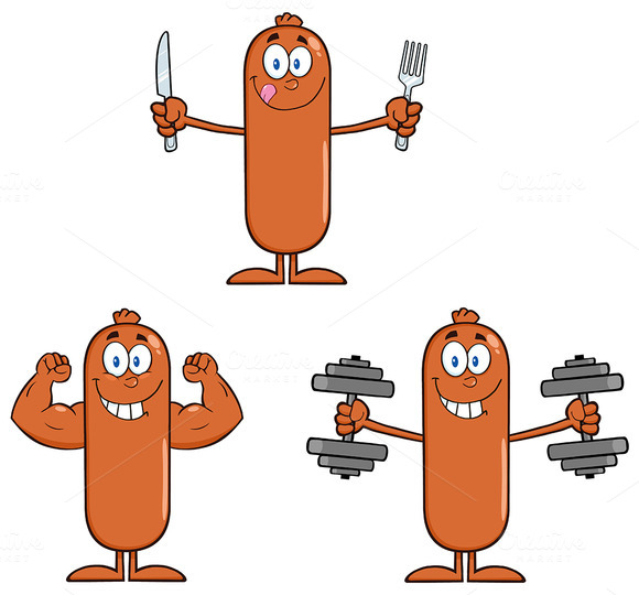 Sausage Character Collection 5