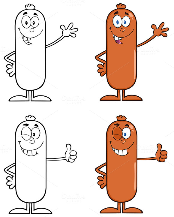 Sausage Character Collection 1