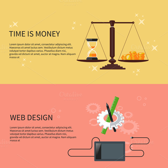 Time Is Money And Web Design
