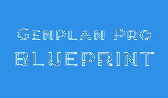 Genplan Pro Blueprint