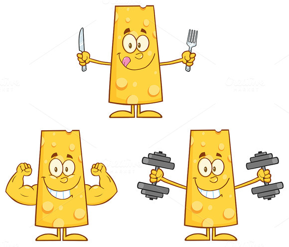 Cheese Character Collection 3