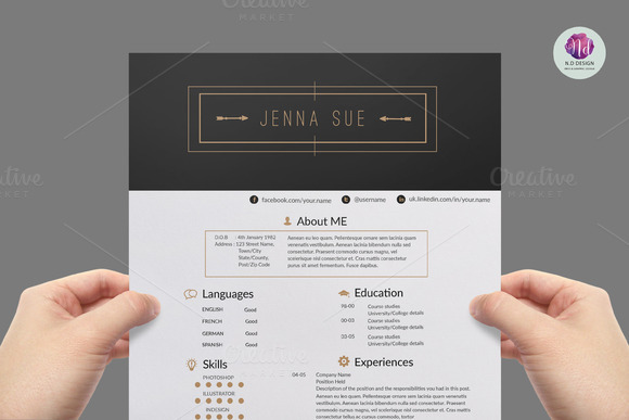 Professional Modern Resume Package