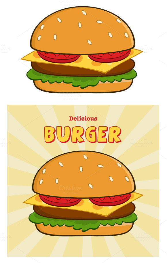 Delicious Burger Collection Set