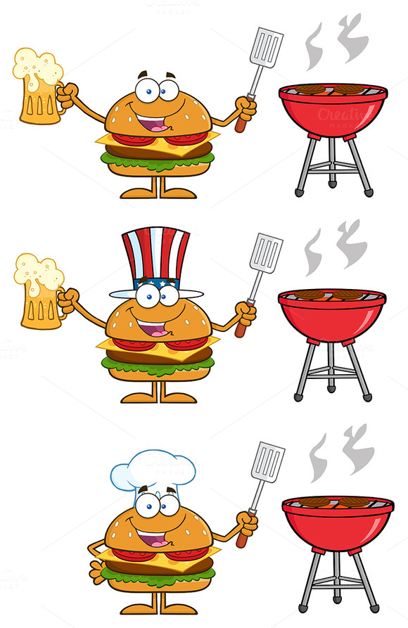 Hamburger Character Collection 5