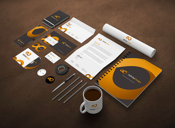Photo Realistic Stationery Mock-Up