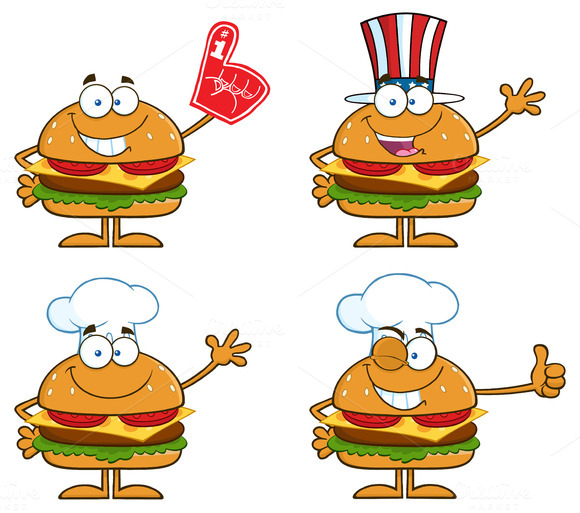 Hamburger Character Collection 3