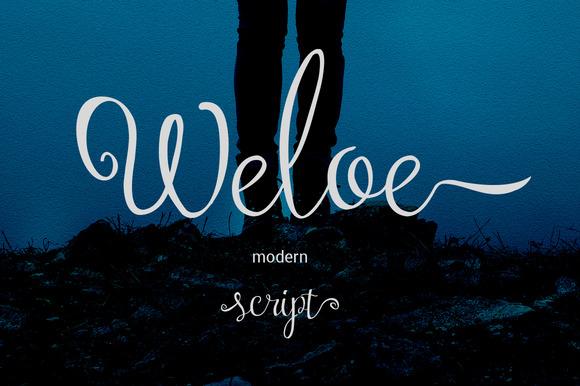 Weloe Font