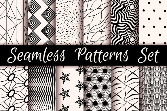 12 Incredible Seamless Patterns