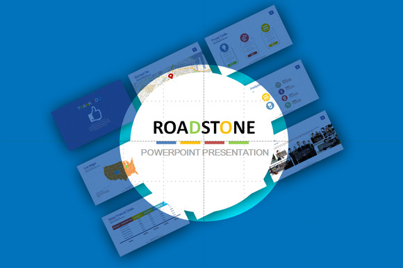 RoadStone Powerpoint Template