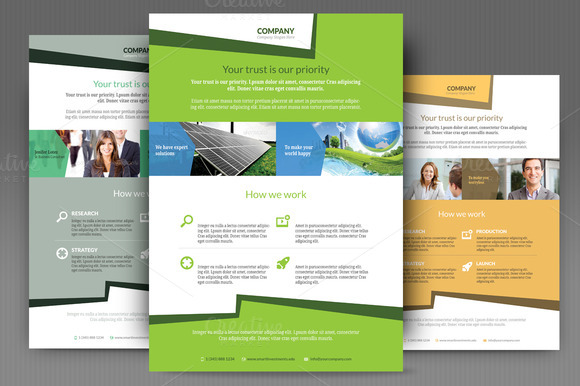 Simple Corporate Flyer Templates