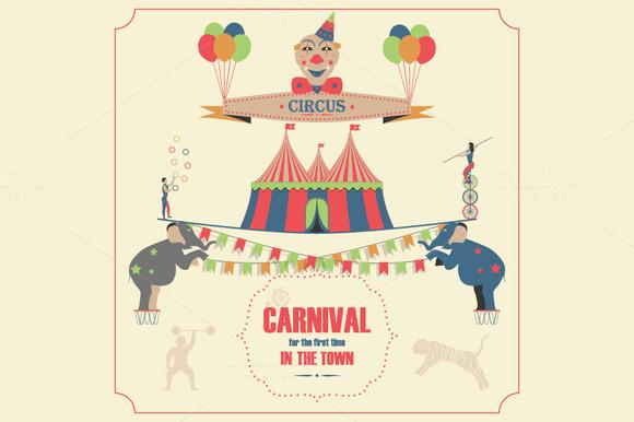 Circus Invitation Poster