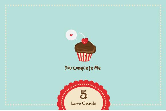 5 Love Cards