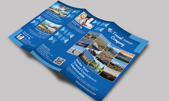 Travel Tri Fold Brochure