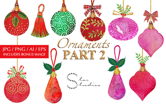 Ornaments Part 2
