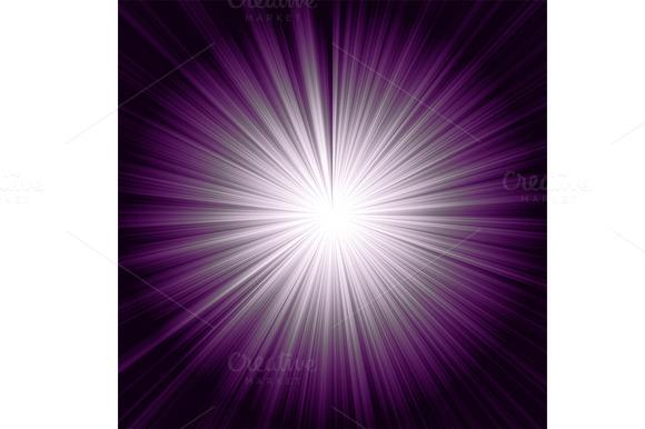 Abstract Purple Sunburst Background
