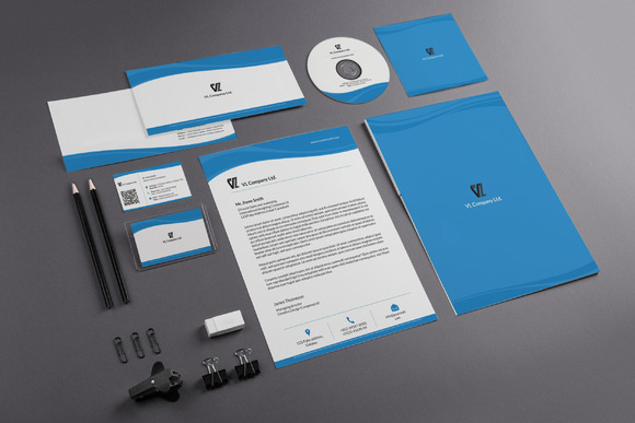 Clean Corporate Identity
