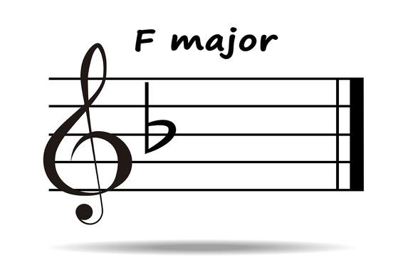 F Major F Major Key One Flat