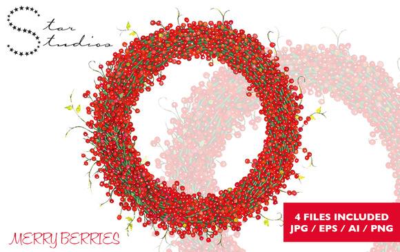 Merry Berries Wreath