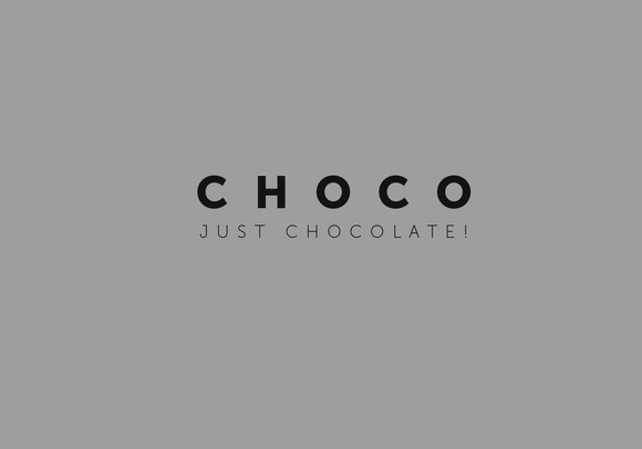 Logo Template Chocolate
