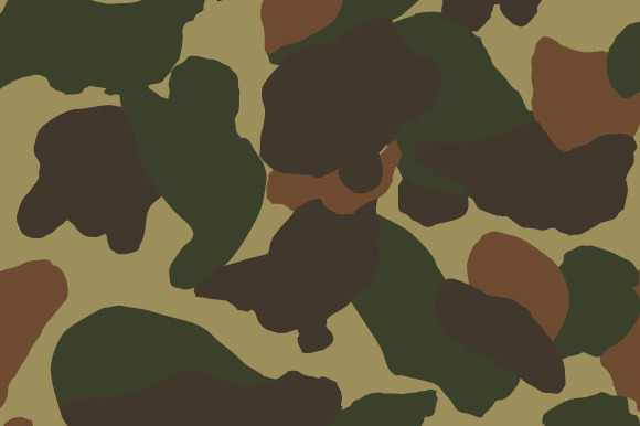Duck Fragment Camouflage