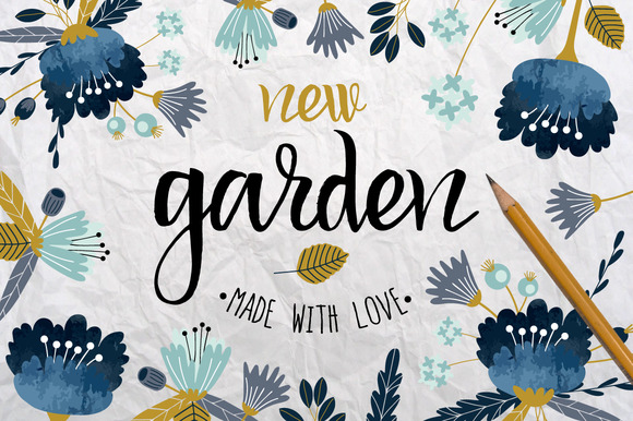 New Garden Autumn Floral Collection
