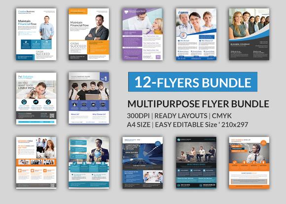 Corporate 12 Flyer Big Bundle