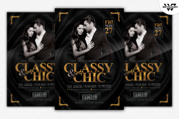 CLASSY And CHIC Flyer Template