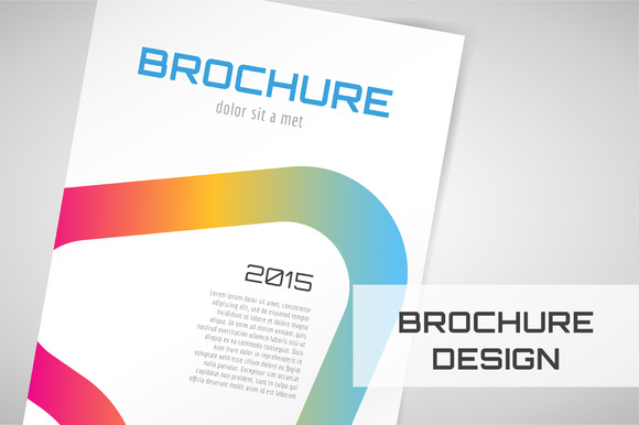Vector Brochure Abstract Template
