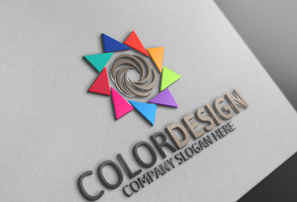 Color Design Logo