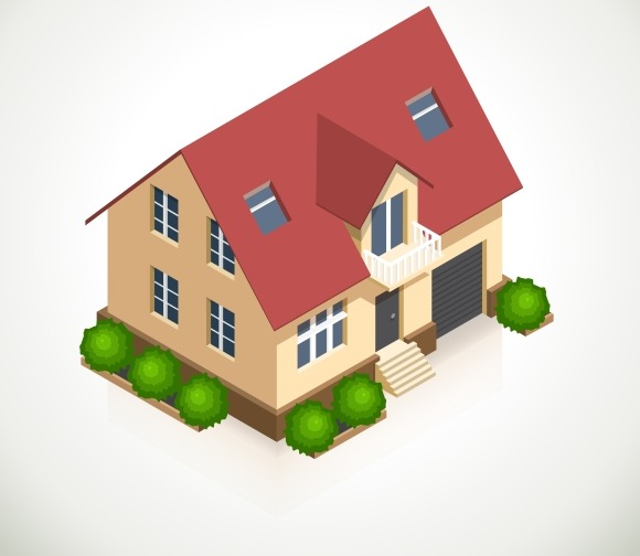 House 3D Vector Icon